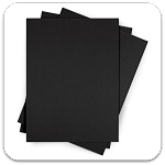 Ultra Board Black Foam Core Boards 27x40x3/16 - 10 Sheets